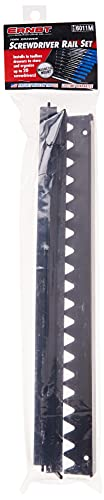 『Ernst Manufacturing 6011M-Black 20-Tool Screwdriver Rail Set with Magnetic Backing by Ernst Manufacturing』の5枚目の画像