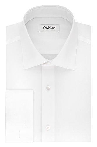 Camisa Sin Cuello Hombre  marca Calvin Klein