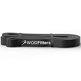 WODFitters Assisted Pull-Up Band - Resistance & Stretch Band - Durable with eGuide - Single Band Black (B00IQM3WDQ) | Amazon price tracker / tracking, Amazon price history charts, Amazon price watches, Amazon price drop alerts