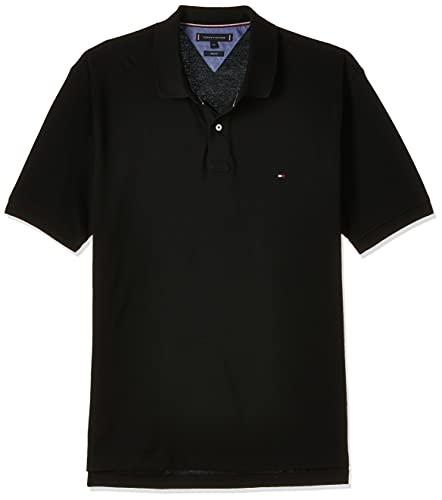 Tommy Hilfiger Herren CORE Tommy Regular Polo Poloshirt, Schwarz (Flag Black 032), XX-Large