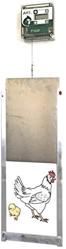 Cheeper Keeper Automatic Chicken Coop Door Opener - Complete Chicken Coop Door Opener and Closer...