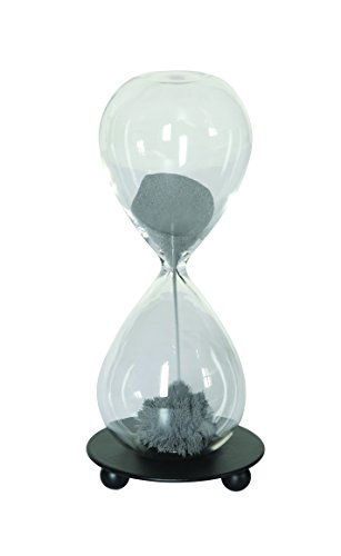 Creative Co-op Glass Magnetic Hourglass