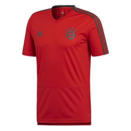 FC Bayern München adidas Trainingstrikot Herren / Fußball Shirt rot / Größe S