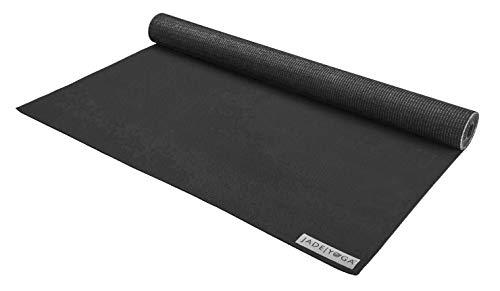 JADE YOGA - Voyager Yoga Mat (68 Inch) (Black)
