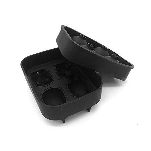 YJM Herramienta de Bricolaje Cubo de Hielo Molde de Silicona 3D Cubo de Hielo Forma de Calavera Bandeja de Molde de Chocolate Molde de Helado