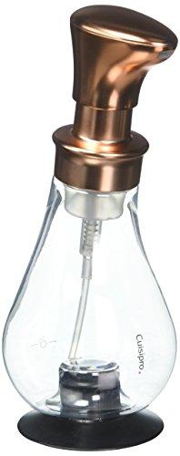 Cuisipro Distributeur de Savon à Pompe en Mousse Cuivre 368 g