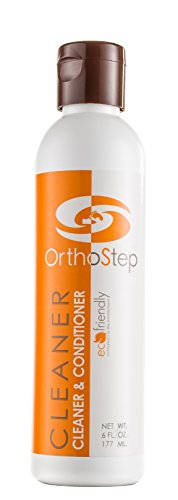 OrthoStep Shoe Cleaner and Conditioner - For Fine Leather and Athletic Shoes - Made in the USA