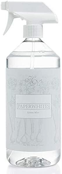 Hillhouse Naturals Linen Mist 1 Liter Paperwhites