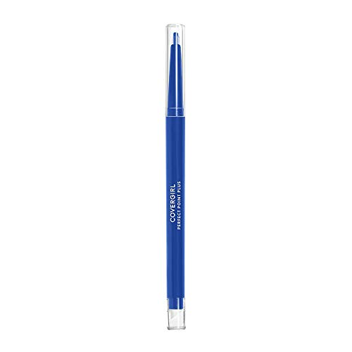 COVERGIRL Perfect Point Plus Eyeliner, Bold Cobalt, 0.008 Ounce, Pack of 2