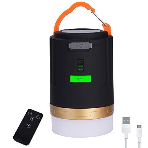 Yizhet Linterna Camping LED, Recargable Camping Lámpara & Banco de Energía 3 Modos Lámpara de Campamento con Base Magnética Impermeable Portátil Luz de Emergencia para Pesca,Excursionismo (1 Pieza)