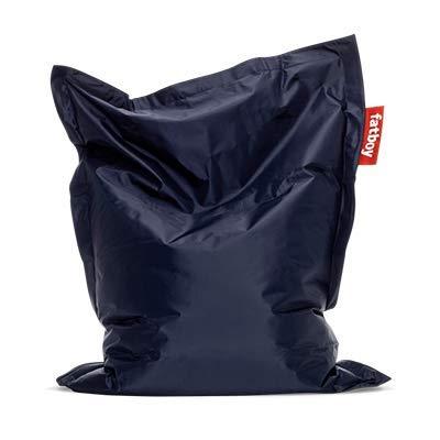 Fatboy® Original Sitzsack Junior | Klassisches Indoor Sitzkissen speziell für Kinder in Blau | 130 x 100 cm