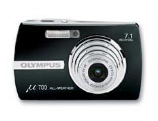 Olympus µ-Digital 700 Digitalkamera (7 Megapixel) schwarz