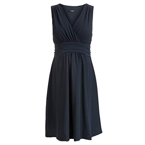 Noppies Damen Dress Woven Liane Kleid, Blau (Dark Blue 46), 42 (Herstellergröße: XL)
