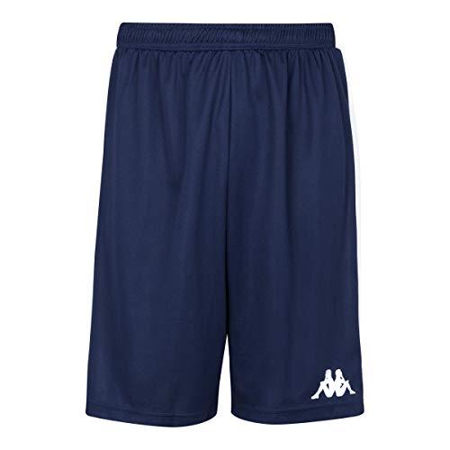 Kappa Caluso Pantalón de Baloncesto, Unisex Adulto, Azul Marino, XL