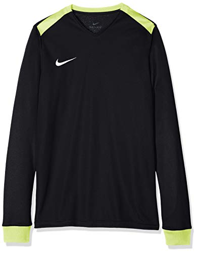 Nike Kinder Park Derby Ii Trikot T-shirt, schwarz (Black/Volt/White), S