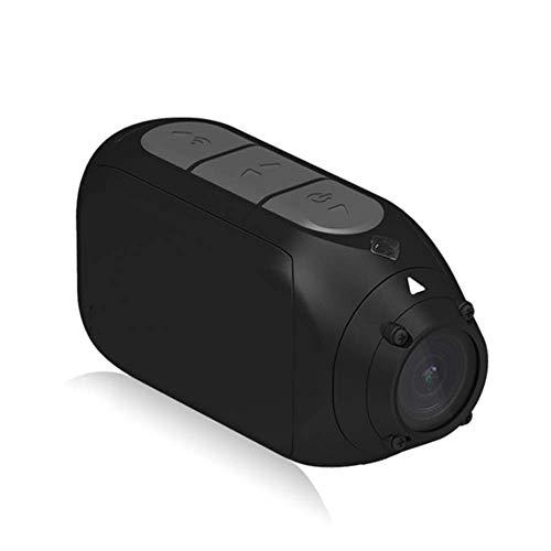 アクションカメラモーションカメラフルHD 1080P、オートバイマウンテンバイクバイクカメラヘルメットカムWiFi、回転レンズ、ビデオラベル、ブラック