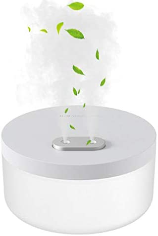 XJH Cool Mist Humidifiers Ultrasonic Humidifier with Night Light 1L Mini Humidifiers with Dual product image