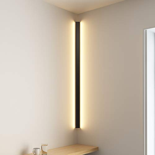 Moderne Eck-Wandleuchte, minimalistische Innenleuchte, Wandleuchter, Treppe, Schlafzimmer, Nachttisch, Zuhause, Flur