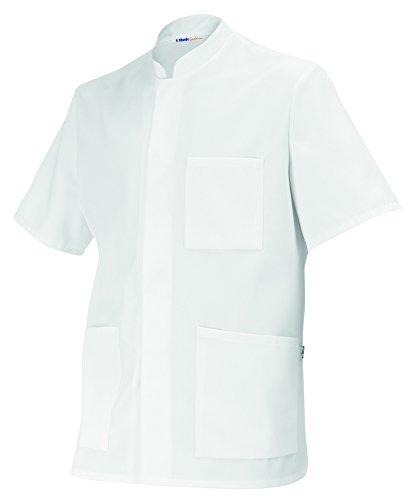 clinicfashion 10112008 Kasack/Arztjacke Unisex für Damen und Herren, Mischgewebe, Größe L