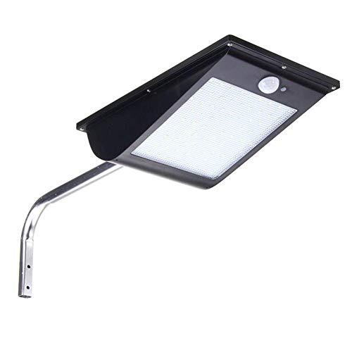 Allamp Impermeable 10W Calle 81LED Solar Light Sensor de luz Porche Dim Lámpara de Pared LED de luz Blanca Luces solares Adecuado para el hogar, Hotel, Sala de Estar, pasi