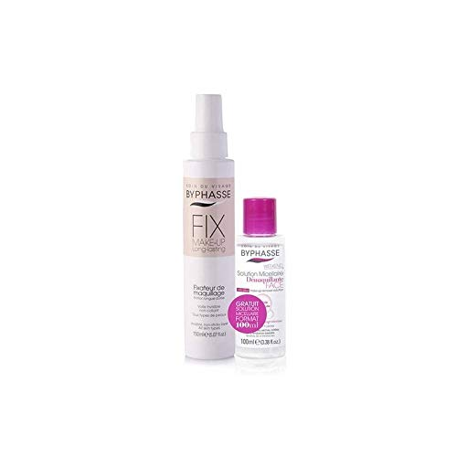 BYPHASSE - Fixateur maquillage et Solution Micellaire - FIX MAKE'UP long lasting - 150+100ml