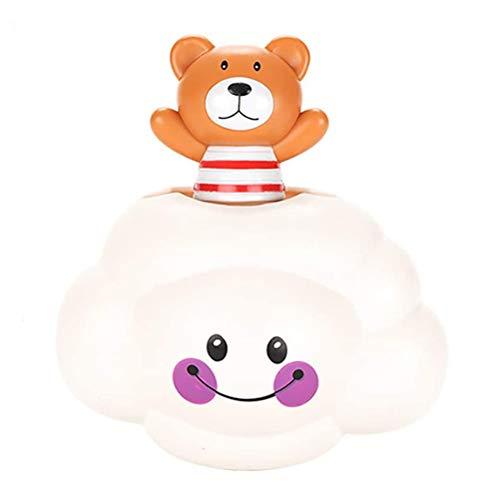 Atrumly Juguete de baño de bebé de juguete Rainmaker lluvia nube oso baño ducha juguete encantador divertido agua spray baño niños niñas, piscina baño baño juguete para bebé