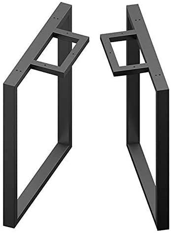 WYBW Piedini di supporto per mobili, 2 pezzi Gambe per tavoli per mobili/Gambe di supporto in ferro battuto/Gambe per tavoli regolabili/Piedini per mobili in metallo fai-da-te/Per bar, Tavolo