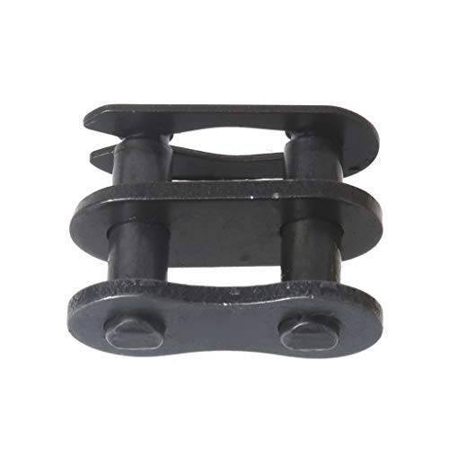Qiman Motorrad Kettenschloss Ring Link 25H # T8F # 420# 428# 520# 530# (T8F#, schwarz)