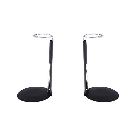 2 Stück Einstellbar Puppenständer Display Halter Unterstützung Ständer Puppenzubehör ( Höhe:13-21cm )
