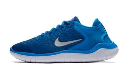 Nike Boys Free RN 2018 GS Team Royal/Photo Blue White Size 4