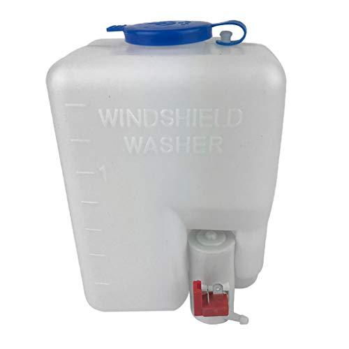 Kit de la botella de la bomba del embalse de la lavadora del parabrisas del coches con la herramienta limpia del interruptor de jet de 12V para el camión de remolque del yate marino de la embarcación