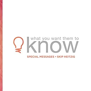 What You Want Them to Know cover art