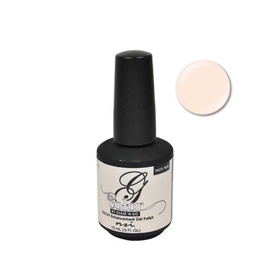 バナー連続的フェミニンNSI Go Color Gel Polish - Barely There - 0.5oz / 15ml