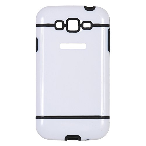 icandy™ dual tone hard pc back cover for samsung galaxy grand s9082 / samsung galaxy grand neo s9060 / samsung galaxy grand neo plus s9060i - black