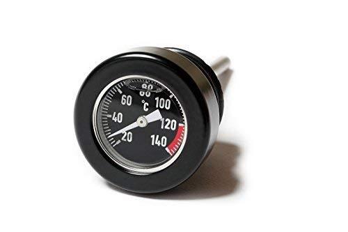 Motorrad Öltemperatur Messstab - für Harley 1999up schwarz/schwarz