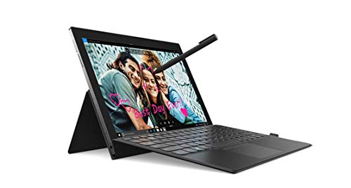 Lenovo Miix 630 2-in-1 12.3' FHD WUXGA Touchscreen Laptop, Qualcomm Snapdragon 835 up to 2.21GHz, 4GB DDR4, 128GB SSD, 802.11ac + LTE, Bluetooth, USB-C, 4-in-1 Card Reader, Webcam, Windows 10 S