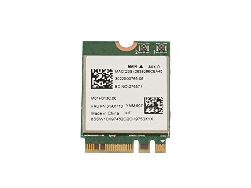 Lenovo Adaptador WLAN/Bluetooth WLAN 802.11ac/abgn Original para la série Yoga 520-14IKB (80X8/80YM)