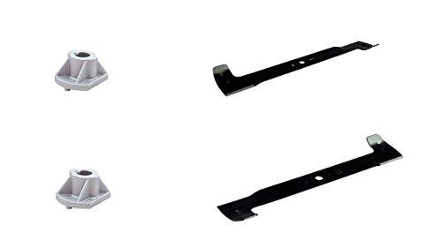 HighLift - Cuchillo Castelgarden de 102 cm Iseki Solo Honda Stiga Viking TwinCut TC TCP compatible con Honda