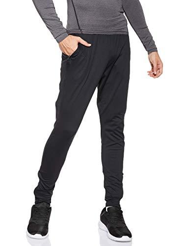 Under Armour UA Challenger II Pantalones para hombre, ajustado pantalón de chándal, pantalones largos ultraligeros y de secado rápido, Black/Graphite (001), MD