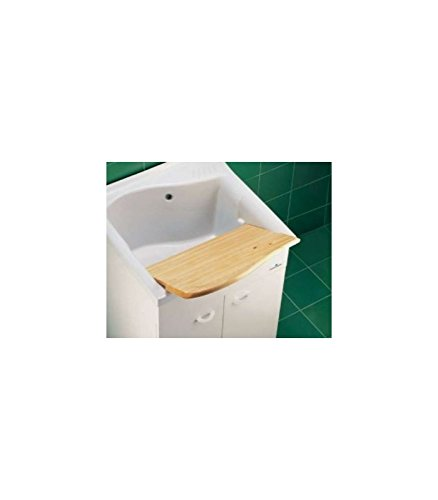 Ideal Stand Dolomite Mm GDO ASSE65 Lago ASSE hout voor wastafel, wit
