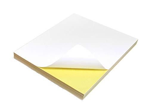 Evergreen Goods Ltd 2.400 All-Purpose Sheets Zelfklevende Sticker Papier, Wit, A4
