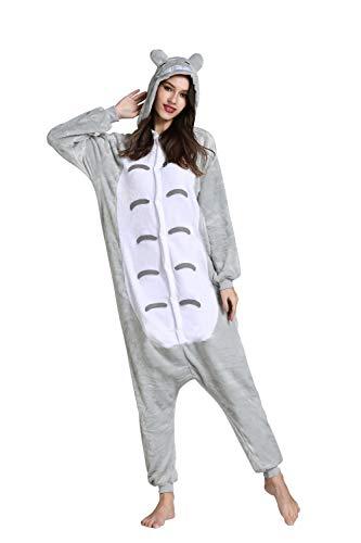 Yimidear Unisex Cálido Pijamas para Adultos Cosplay Animales de Vestuario Ropa de dormir (S, Vecino…