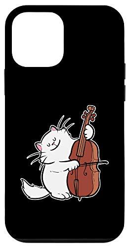 iPhone 12 mini Cat Orchestra Cello Musician And Artist Case