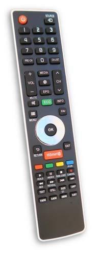 Mando a distancia para TV HISENSE 40K160WSEU 40K220 40K220T2