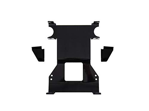 SuperATV Front Suspension Frame Stiffener for Polaris RZR XP Turbo S (2018+) -Black