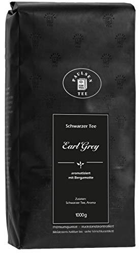 Paulsen Tee Earl Grey schwarzer Tee, Premiumqualität 1000g, rückstandskontrolliert