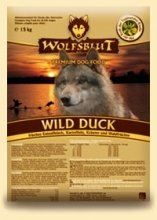 WOLFSBLUT Trockenfutter WILD DUCK Ente + Kartoffel Adult für Hunde 15,0 kg - 2