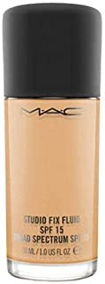 MAC Studio Fix Fluid SPF 15 Foundation - 30 ml, NC40