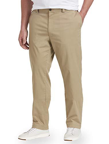 Amazon Brand - Goodthreads Men's Big & Tall The Perfect Chino Pant-Tapered Fit, Khaki, 48W x 32L