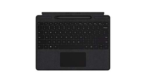 Surface Pro X Signature Type cover + Slim Pen teclado para móvil QWERTY Negro